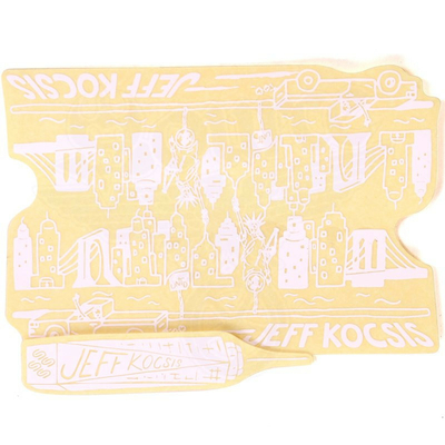 Stickers UNITED pack Lil Jef Region 2pc