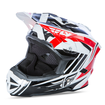 Casque FLY RACING Default red/black/white