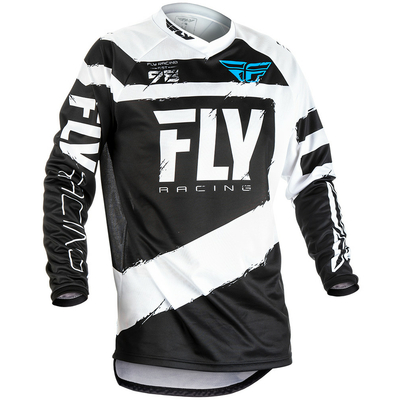 Maillot FLY RACING F-16 white/black 2018