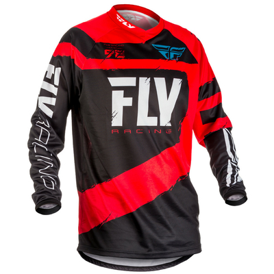 "Maillot FLY RACING F-16 red/black 2018 ""Junior"""