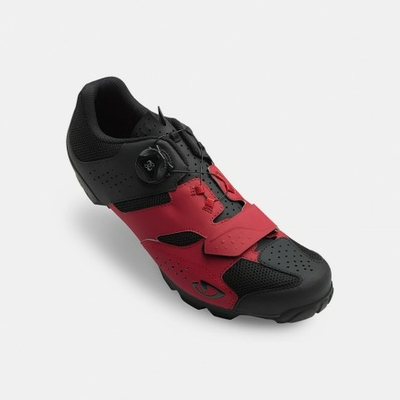 Shoes GIRO Cylinder dark red/black