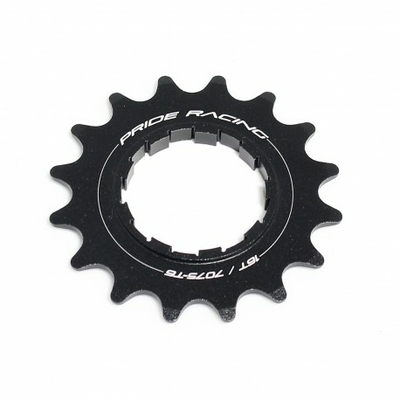 Pignon PRIDE Spiral alu 7075