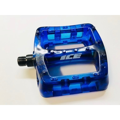 Pedales ICE Kristal pc trans blue