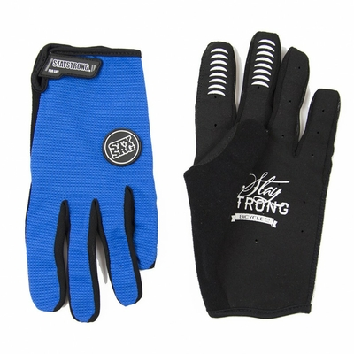 Gants STAY STRONG Staple blue
