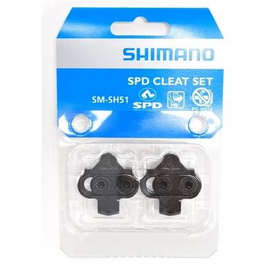 Cales SHIMANO SPD SM SH51 (La paire)