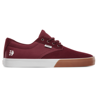 Shoes ETNIES Jameson Vulc burgundy gum/white