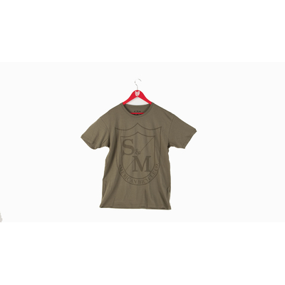 Tee shirt S&M Shield military green