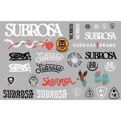 Stickers SUBROSA 2018