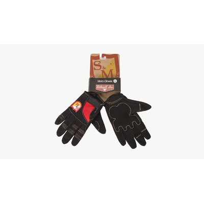 Gants S&M Biltwell Shied black red