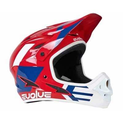Casque EVOLVE Storm glossy red
