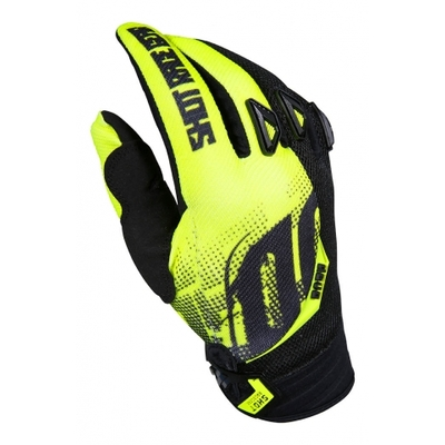 "Gants SHOT Devo venom yellow ""Junior"""