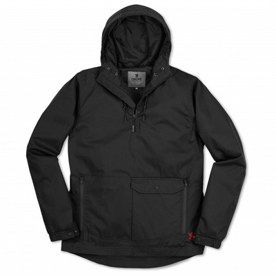 Veste CHROME Skyline Windcheater Anorak black