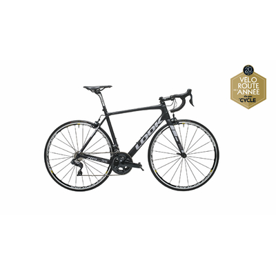 Vélo LOOK Huez RS Ultegra Di2 black mat grey