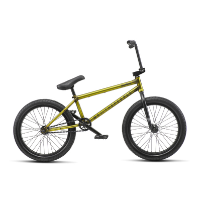 """Bmx WETHEPEOPLE Justice 20.75"""" mat trans yellow 2019"""