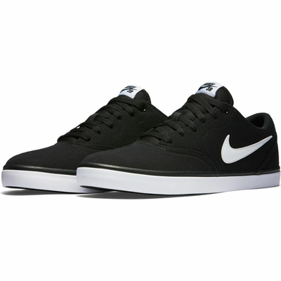Shoes NIKE SB Check Solar CNVS black/white