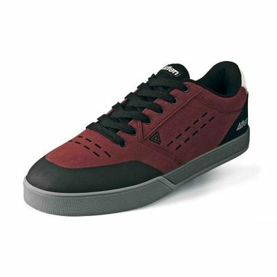 Shoes AFTON Keegan black/maroon