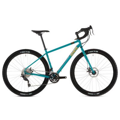 Vélo gravel GENESIS Vagabond teal 2019
