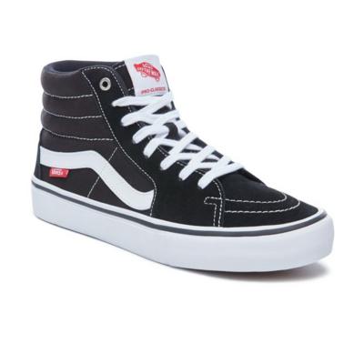 Shoes VANS Sk8-Hi Pro black/white