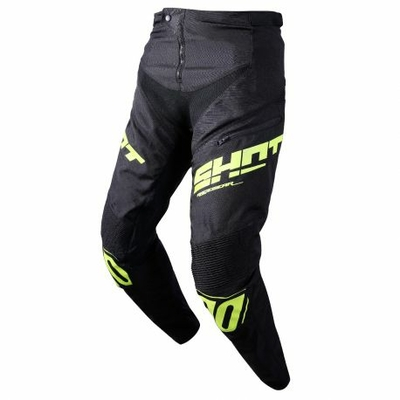 Pantalon SHOT Rogue black/neon yellow