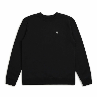 Sweat BRIXTON B Shield Crew black
