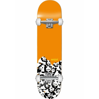 Skate complet ENJOI Panda Pile Orange 7.625