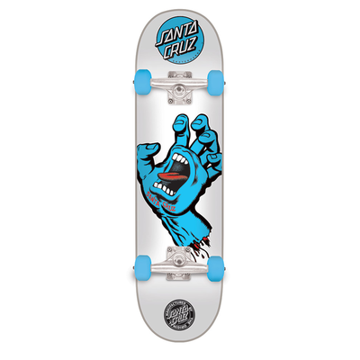 Skate complet SANTA CRUZ Screaming Hand White 8.0