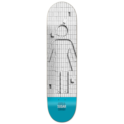 Planche GIRL Sugar 20 anniversary blue 8.125