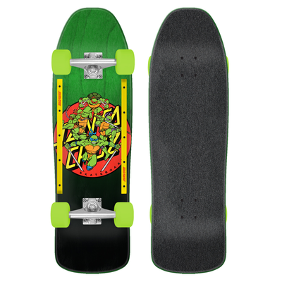 Skate complet SANTA CRUZ Cruiser TMNT Turtle Power 9.35""