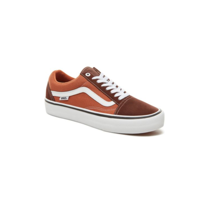 Shoes VANS Old Skool Pro Potting Soil/Leather brown