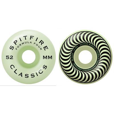 Roues SPITFIRE Formula Four Glow classic 52mm