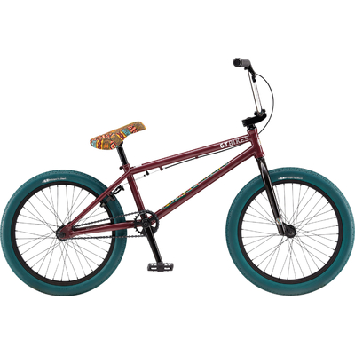 "Bmx GT Performer 20.75"" trans wine red 2019"