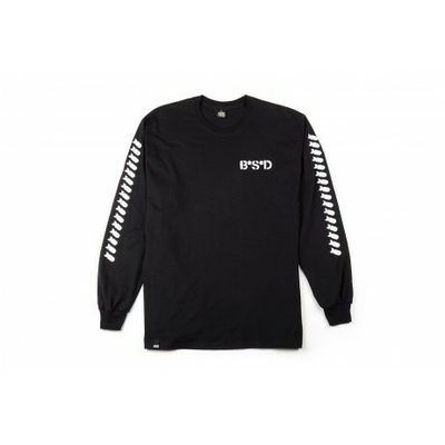 Tee shirt BSD bomber long sleeve black