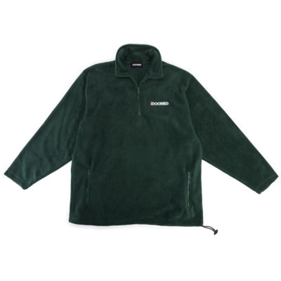 Sweat DOOMED Micro Fleece green