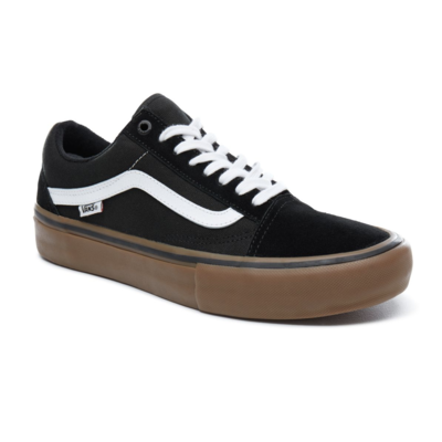 Shoes VANS Old Skool Pro black/white/gum