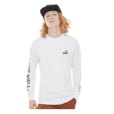Tee shirt VANS X Antihero On The Wire white