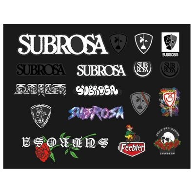 Stickers SUBROSA pack 2019