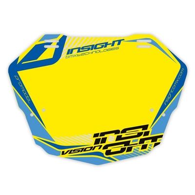 Plaque à numéros INSIGHT Vision 2 pro yellow/blue