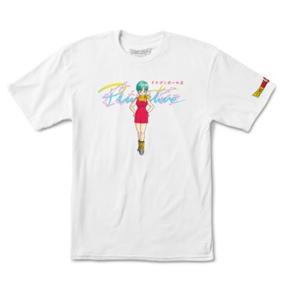 Tee shirt PRIMITIVE DBZ Bulma white