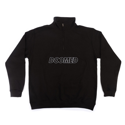 Sweat capuche DOOMED half zip