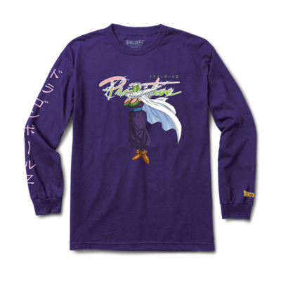 Tee shirt PRIMITIVE DBZ Nuevo Piccolo LS purple