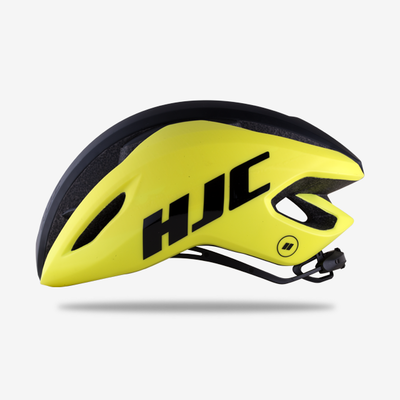 Casque HJC Valeco yellow black