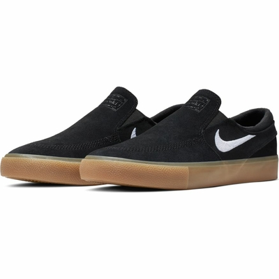 Shoes NIKE SB Janoski slip RM black/gum