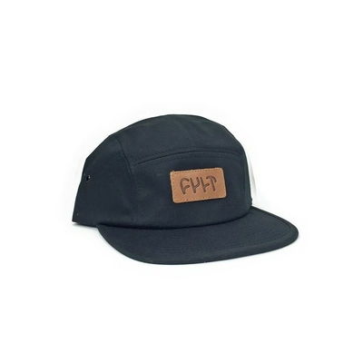 casquette CULT 5 panels leather patch
