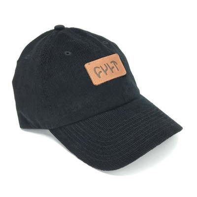 CASQUETTE DAD CULT FATHER BLACK CORDUROY