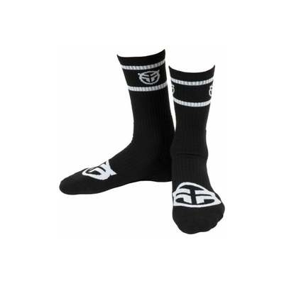 Chaussettes FEDERAL Logo Black / White