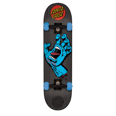 Skate complet SANTA CRUZ Mid Screaming Hand black 7.25""