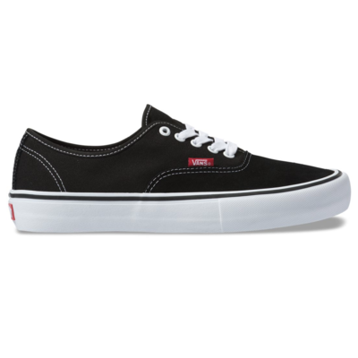 Shoes VANS Authentic Pro black/true white