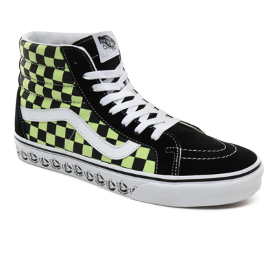Shoes VANS SK8-HI Reissue (Vans BMX) Black/Sharp Green