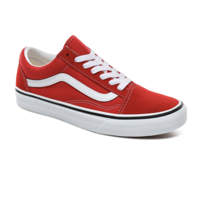 Shoes VANS Old Skool Racing Red/True White
