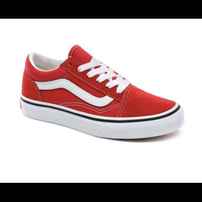 """Shoes VANS Old Skool Racing Red/True White """"Junior"""""""
